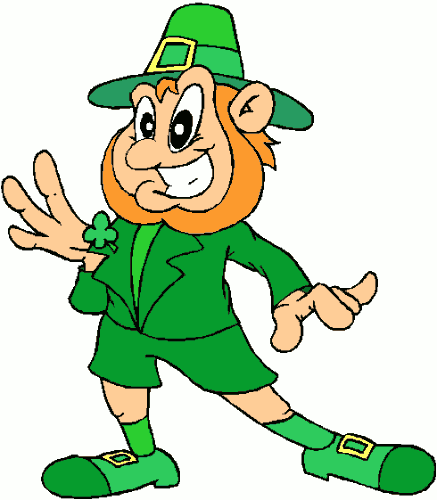 Free Clipart Of St Patricks Day Clipart Of A Smiling