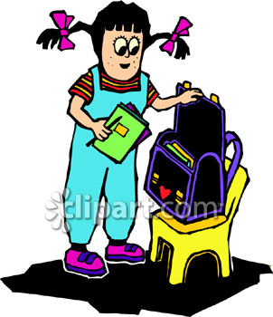 Kid With Backpack Clipart   Clipart Panda   Free Clipart Images