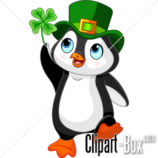 Related St Patrick S Penguin Cliparts