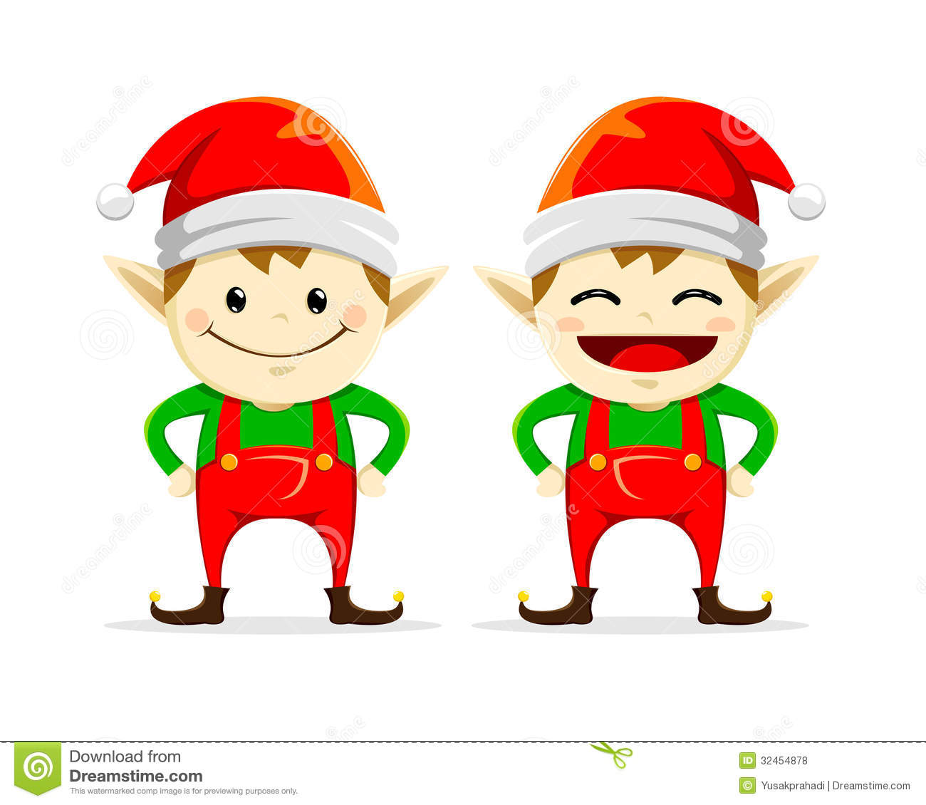 Sad Elf Clipart