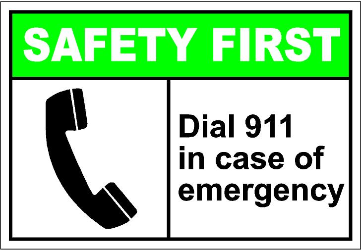 Back   Gallery For   911 Emergency Sign Clip Art