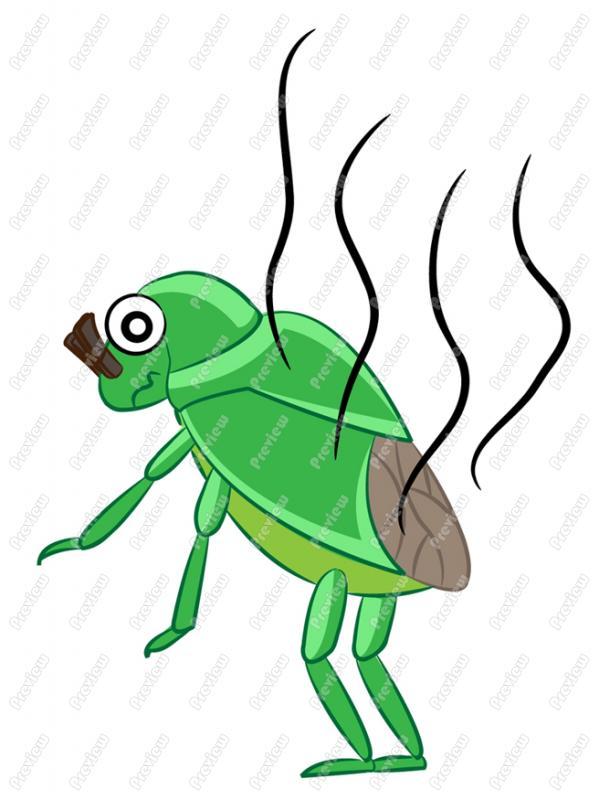 Clip Art Bug Cartoon Clipart - Clipart Kid