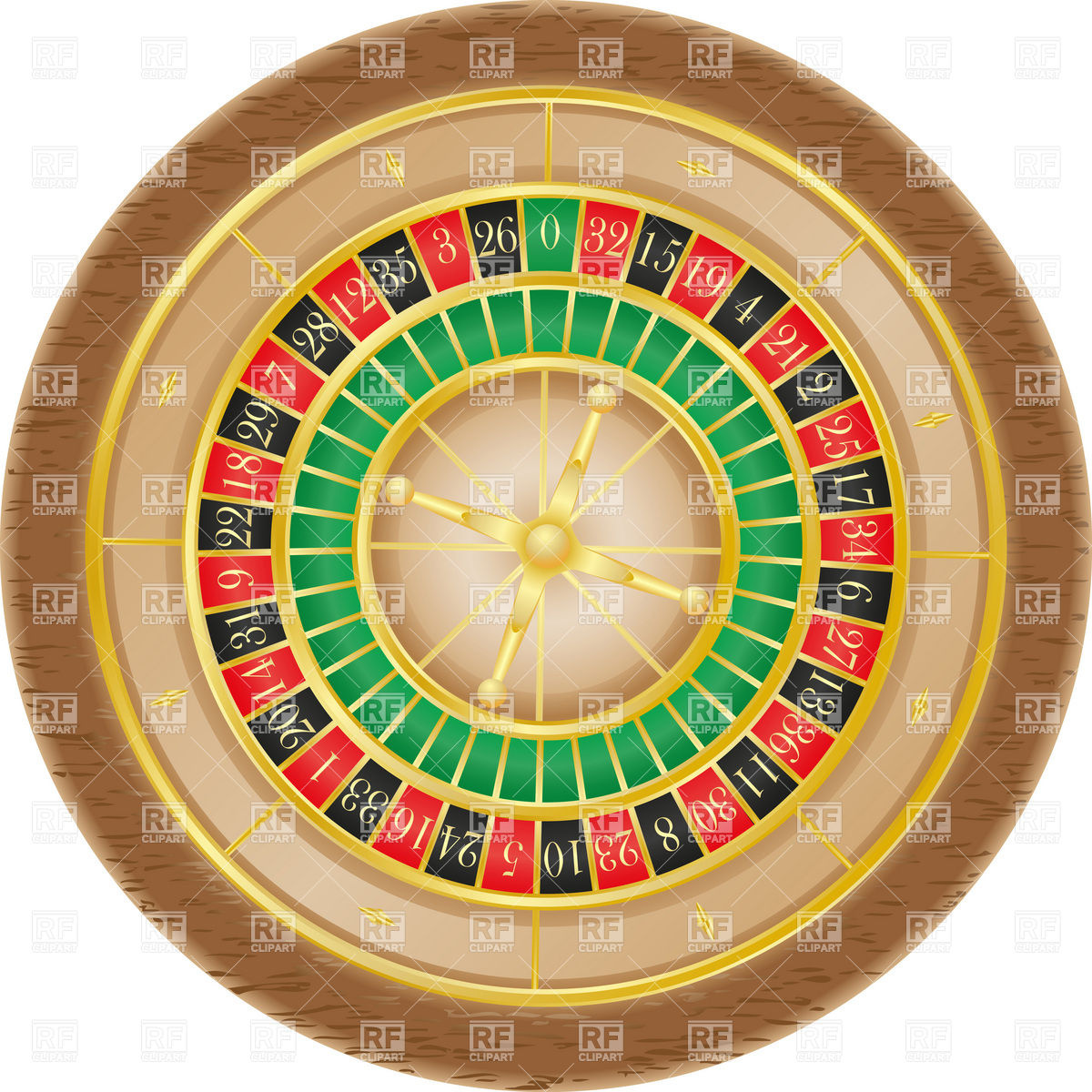 Casino Roulette Wheel Layout   Directly Above Download Royalty Free