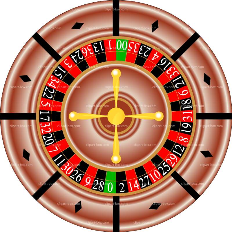 Clipart Casino Roulette   Royalty Free Vector Design