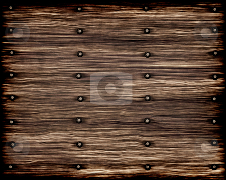 Grunge Old Wood Planks Stock Vector Clipart Old Worn And Weathered