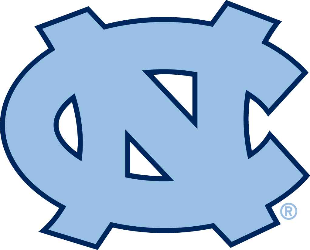 North Carolina Tar Heels Primary Logo   Ncaa Division I  N R   Ncaa N