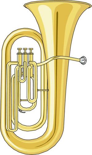 Tuba Clipart - Clipart Kid