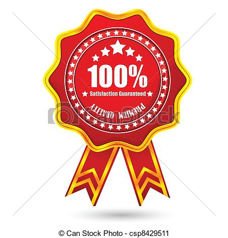 Vector   Premium Quality Badge   Stock Illustration Royalty Free