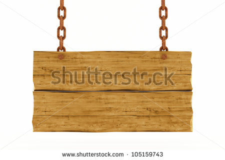 Wood Plank Sign Clipart Old Wood Plank With Rusty