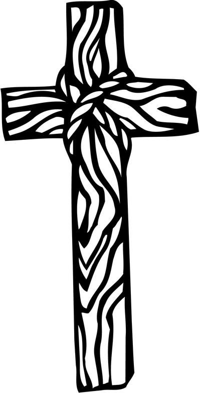 Wooden Cross Clipart - Clipart Kid