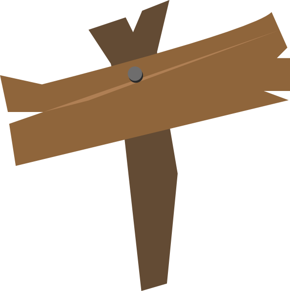 Wooden Sign Clipart - Clipart Suggest