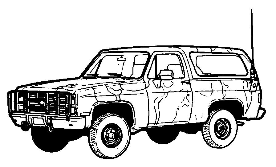 4x4 jeep clipart