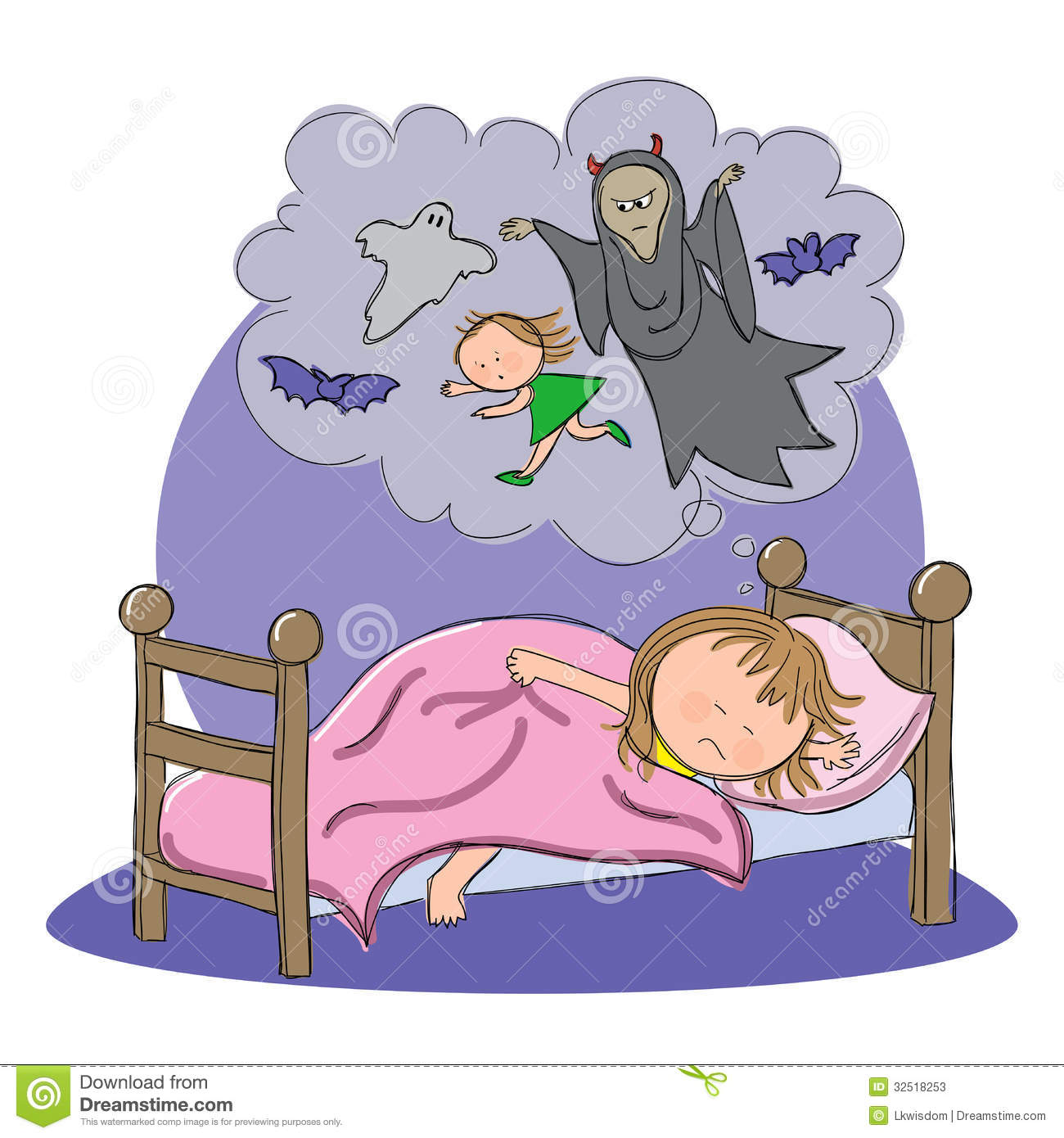 Bad Dream Child Picture Of Child Dreaming