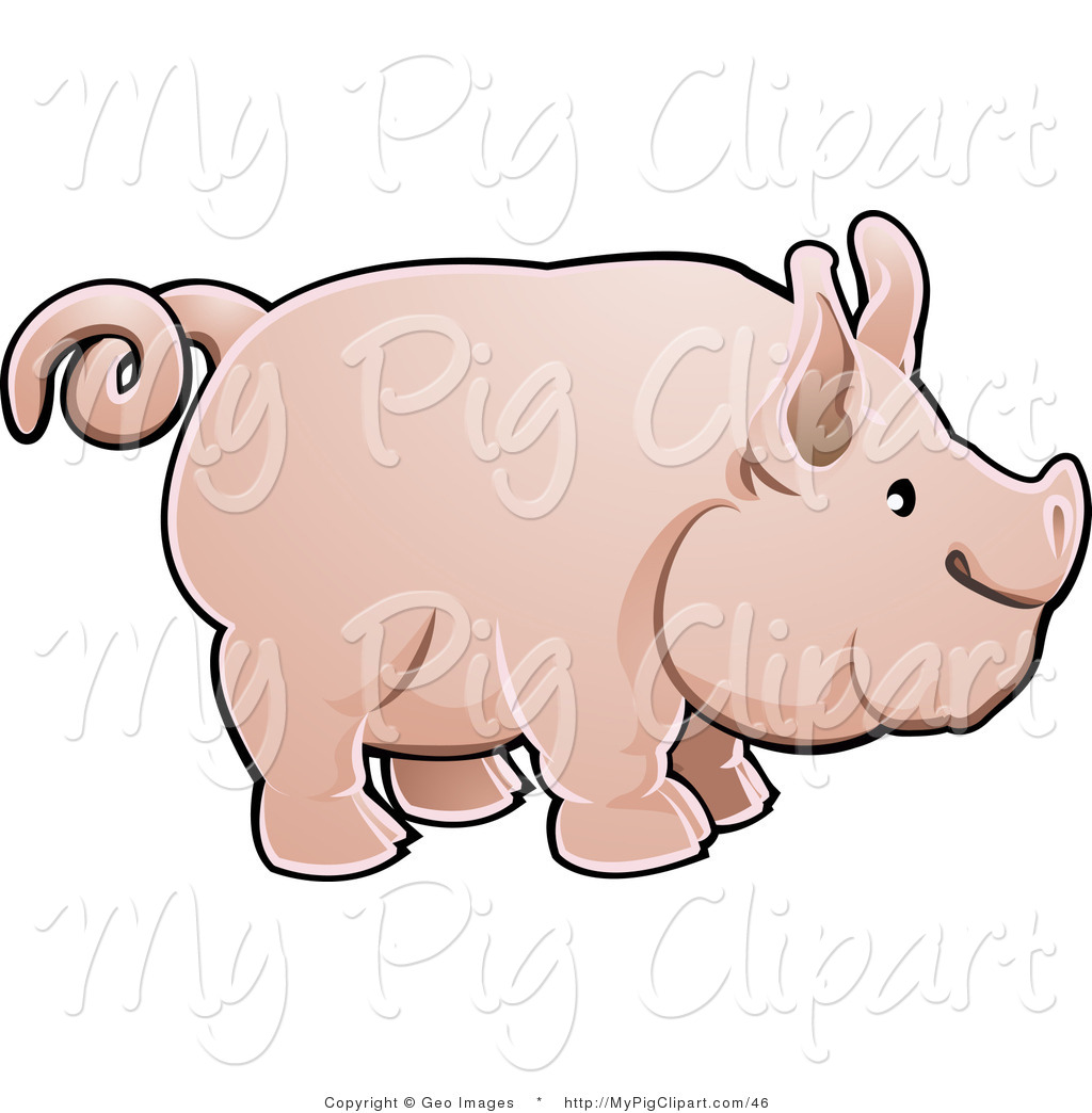 Cow Tail Clipart Pig Clipart Illustrations