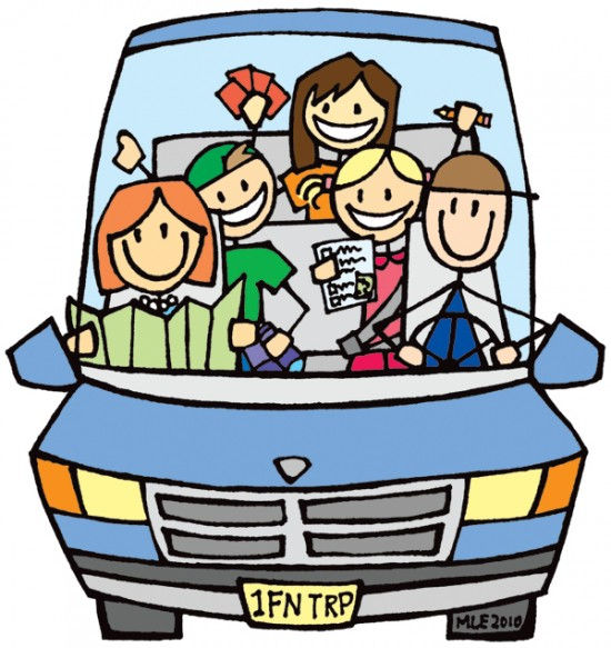 Family Car Trip   Clipart Panda   Free Clipart Images