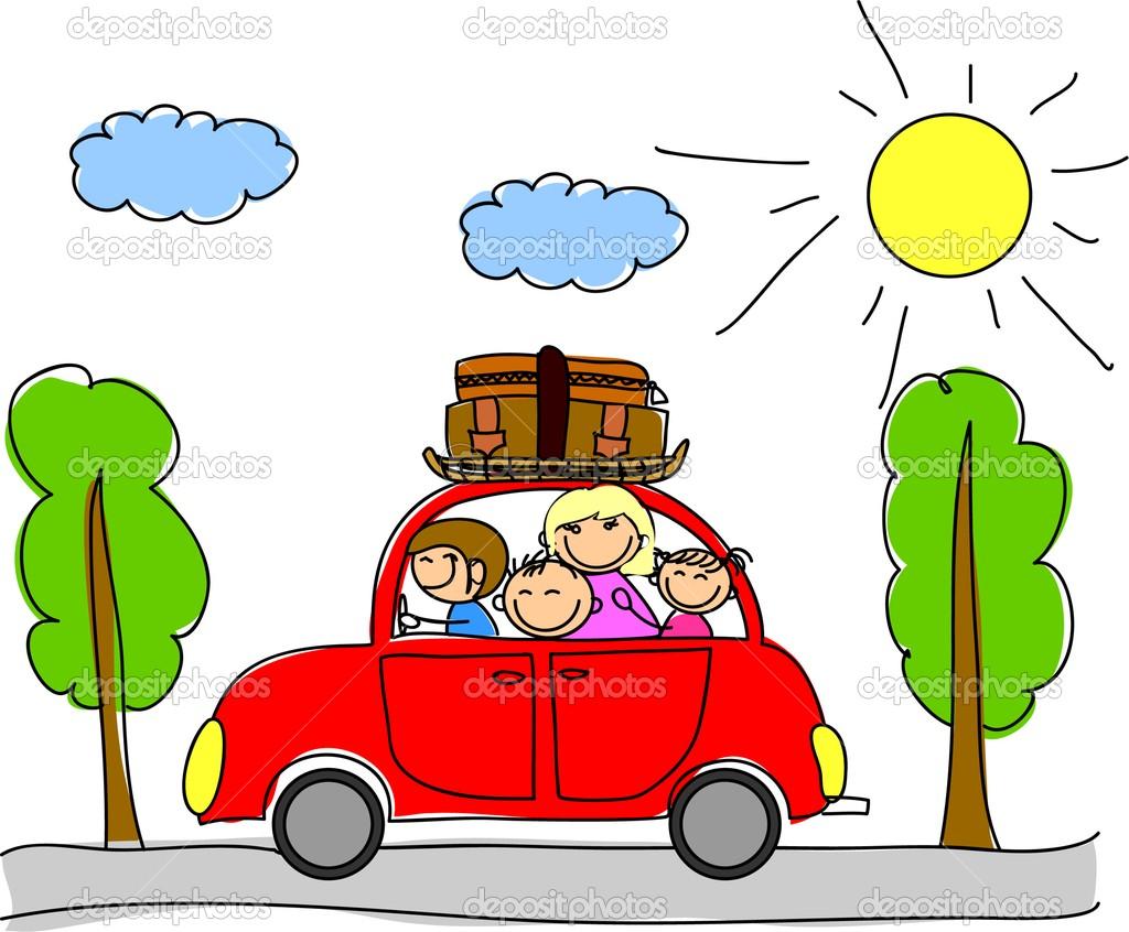 free clipart family car - photo #34