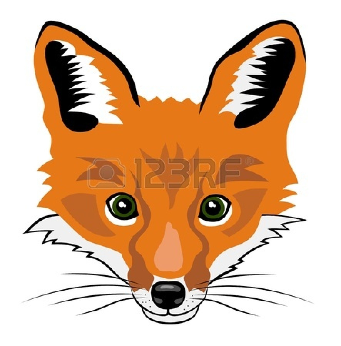 Fox Face Drawing   Clipart Panda   Free Clipart Images