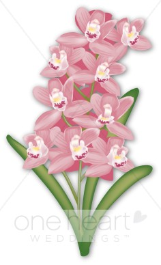 Hyacinth Clipart   Wedding Flower Clipart