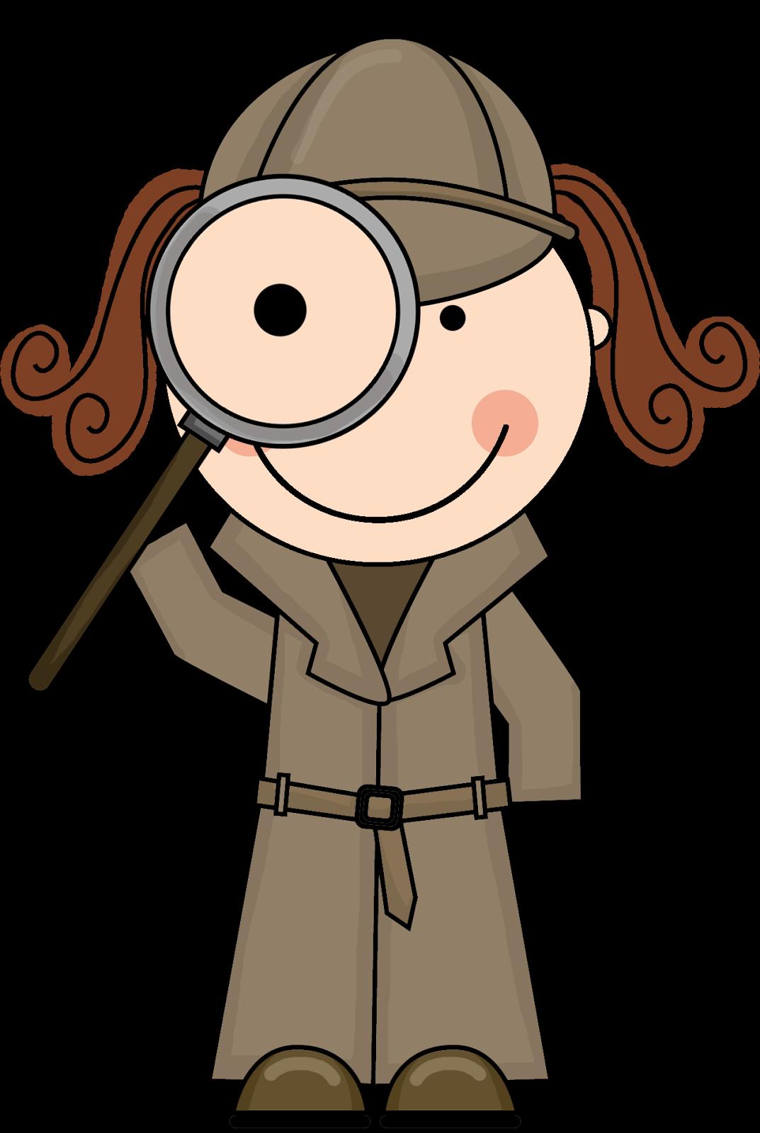 Investigator Clipart - Clipart Kid
