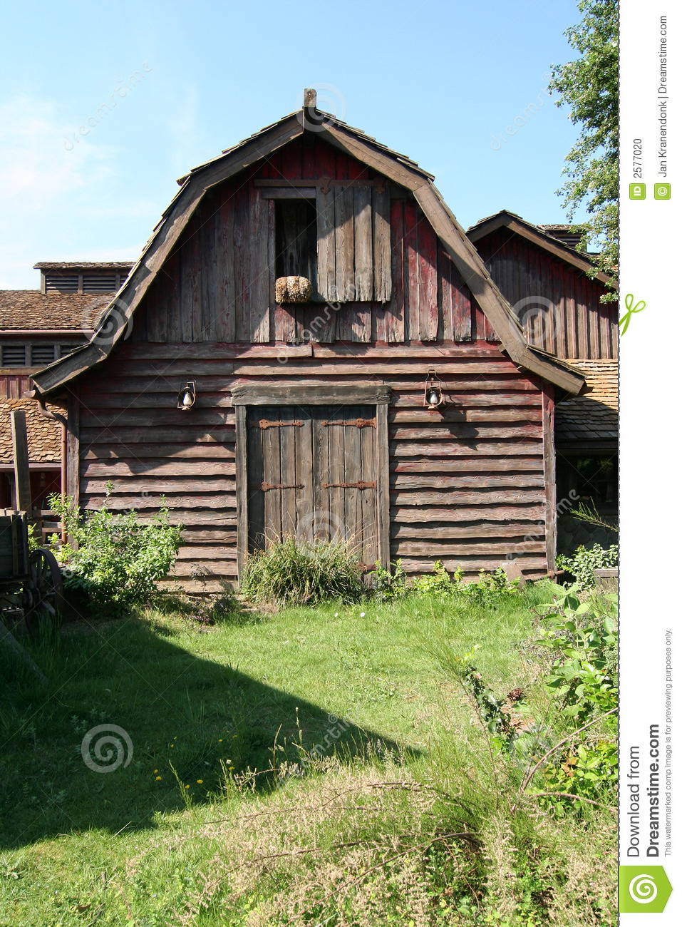 Old Shed Stock Photo   Image  2577020