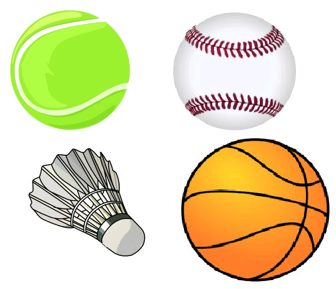Pictures Of Sports Equipment Clipart Best