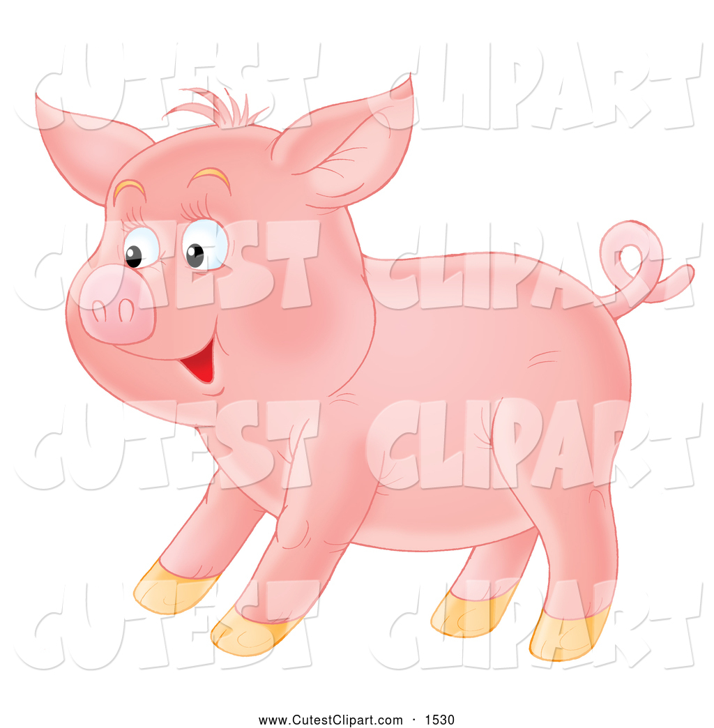 free clip art pink pig - photo #28