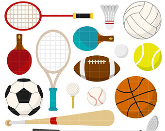 Sport Equipment Clipart Clipart Best