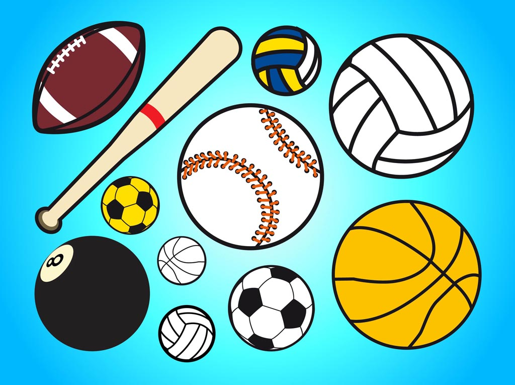 Sports Equipment Clip Art Clipart Best
