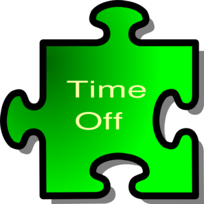 Time Off Clip Art At Clker Com   Vector Clip Art Online Royalty Free