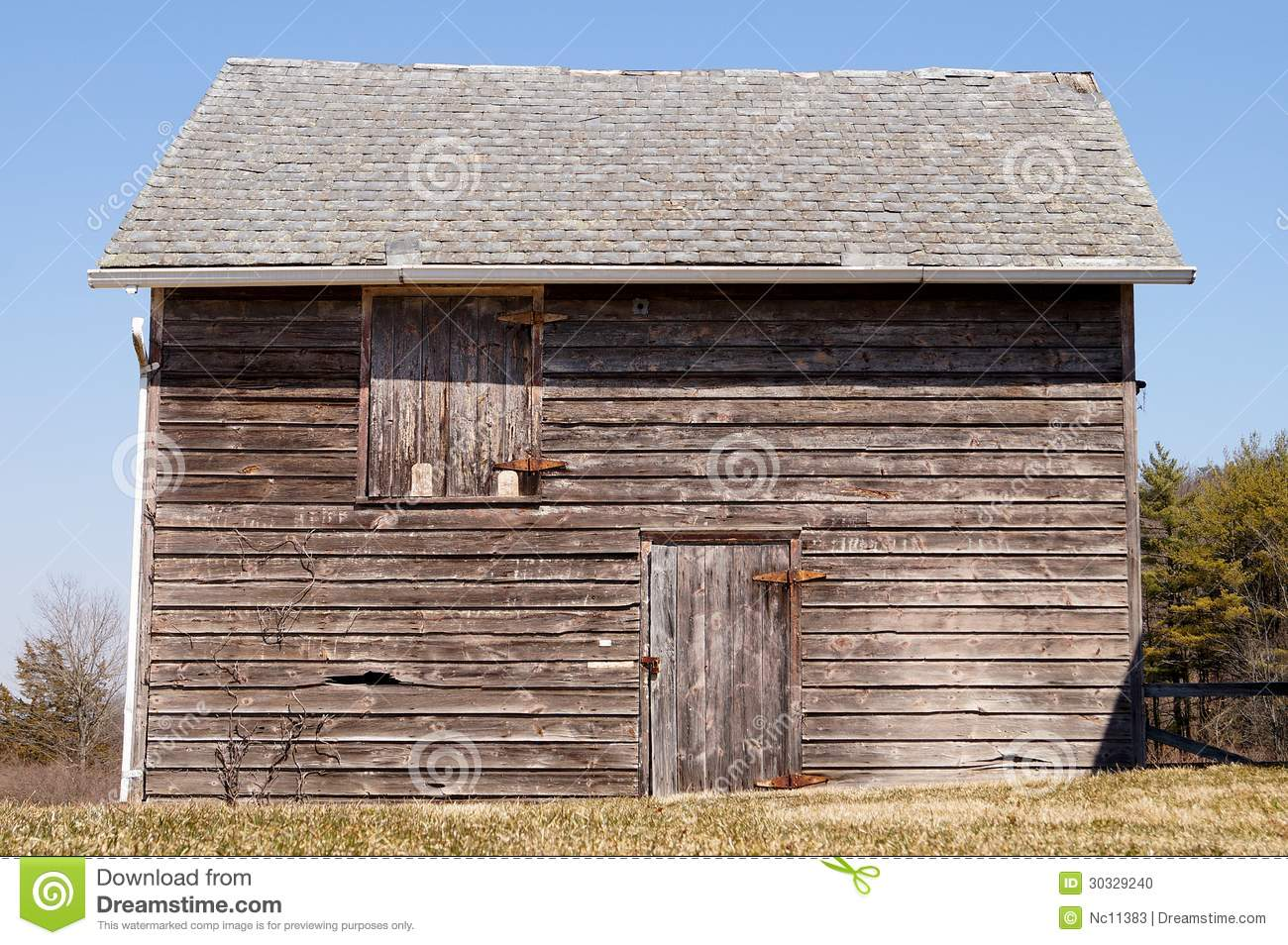 Wooden Shed Stock Photo   Image  30329240