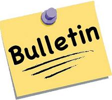 Image result for bulletin clip art