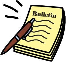 Bulletin Clipart Bulletin Jpeg