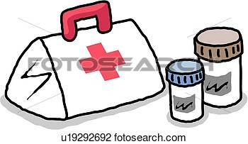Clip Art Of Medicine Object Medicare Medical Service Medical