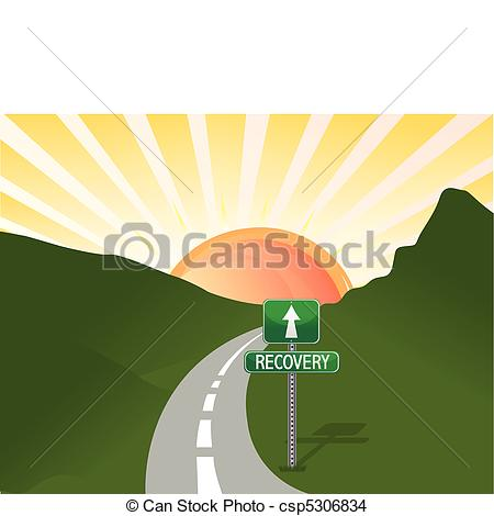 Eps Vector Of Road To Recovery Vector File Csp5306834   Search Clip