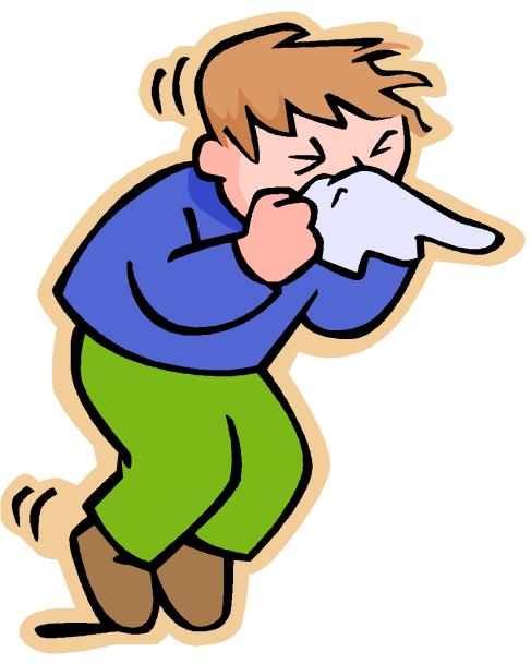 Sneeze Cartoon Clipart - Clipart Kid
