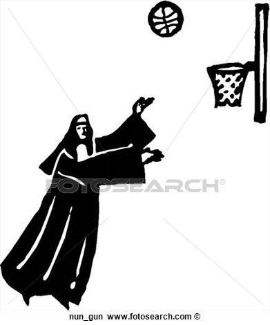 Nun Gun Art Parts Photograph Royalty Free Clipart