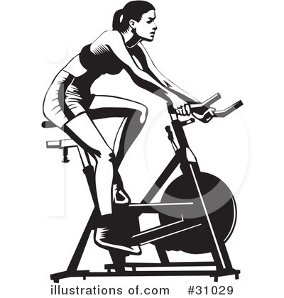 Royalty Free  Rf  Fitness Clipart Illustration By David Rey   Stock