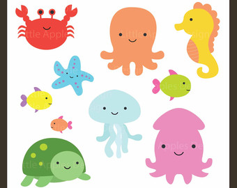 Under The Sea Clipart Under The S Ea Clip Art Sea Creatures Clip Art