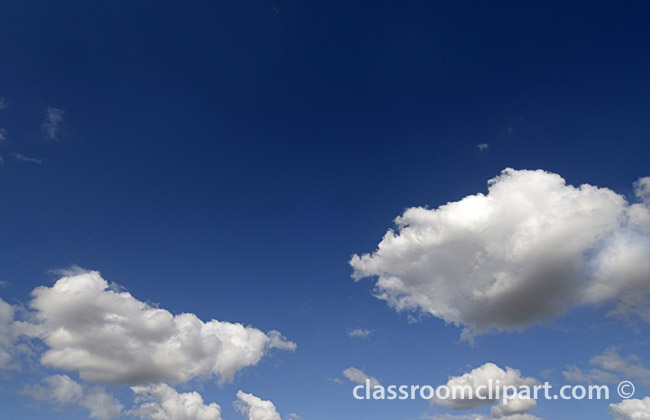 Clouds   Beautiful Blue Sky   Classroom Clipart