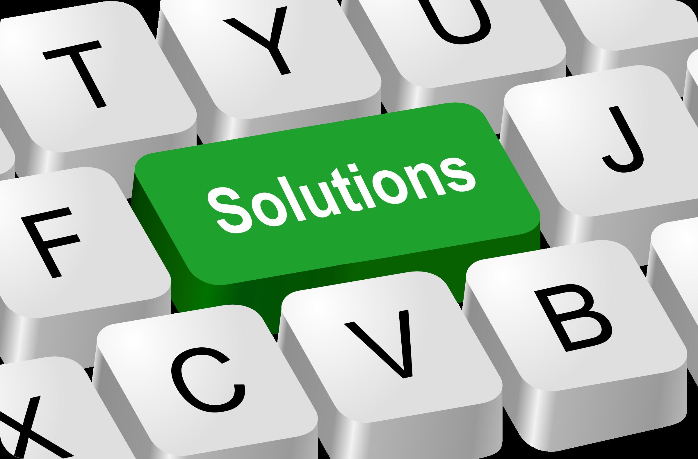 Find Solution Clip Art
