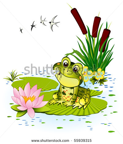 Cute Frog Clipart Wallpapers