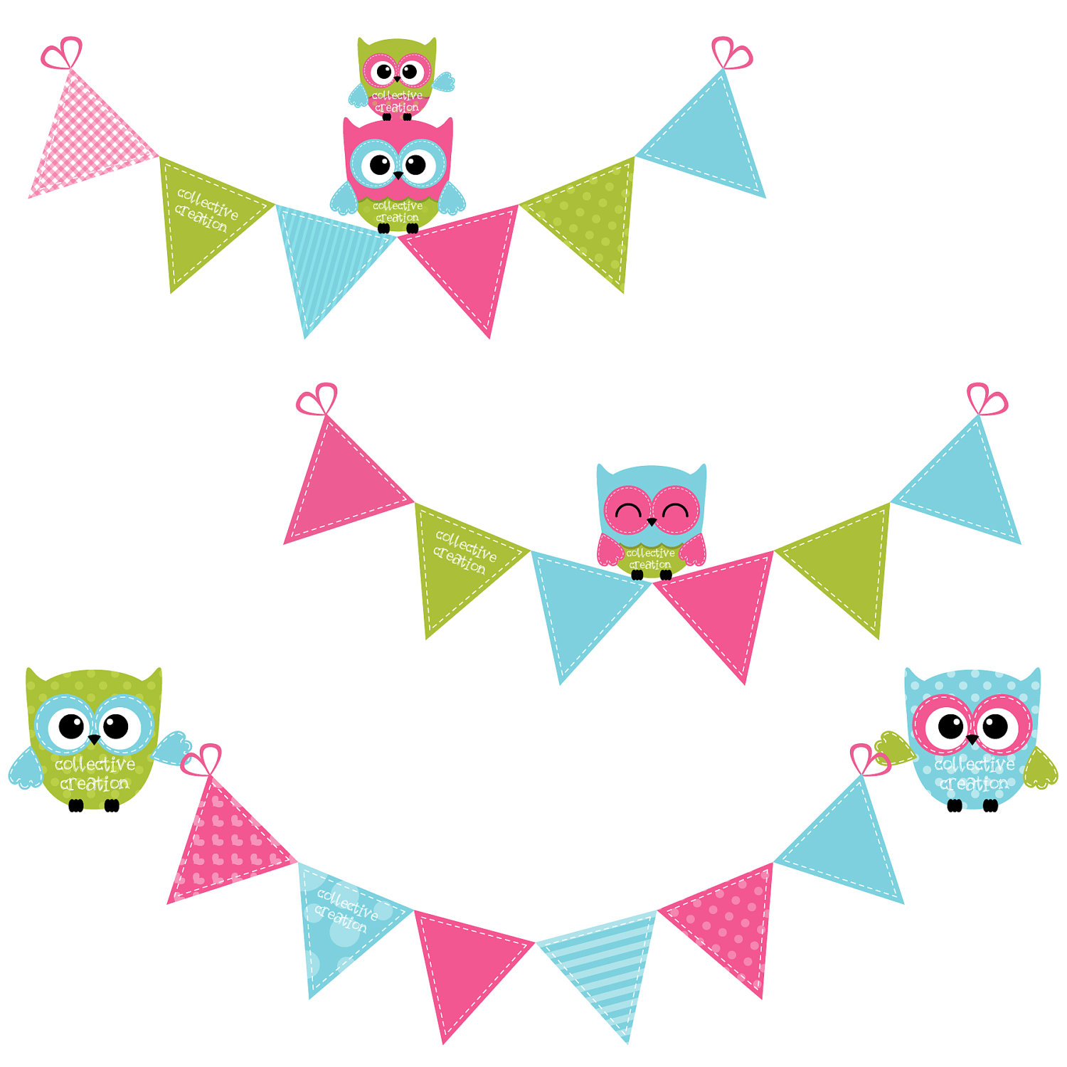 Cute Owl On Tree Clipart