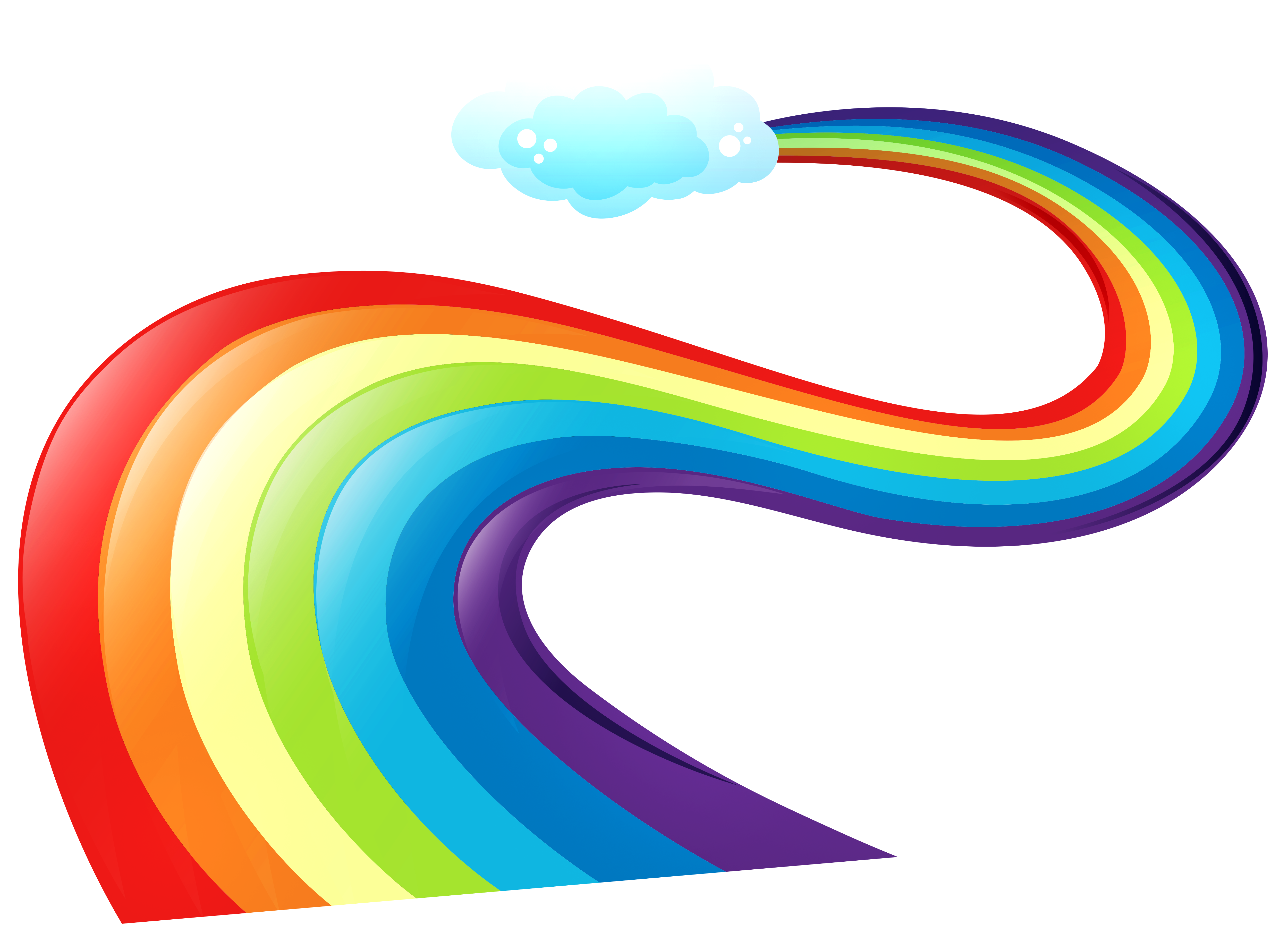 Free Clip Art Rainbows   Cliparts Co