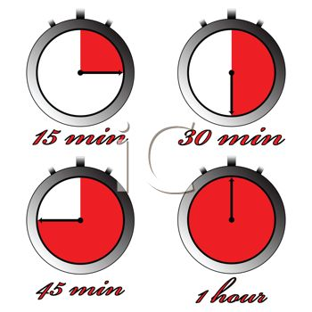 Clip Art Clock Time 4 30 Clipart   Cliparthut   Free Clipart