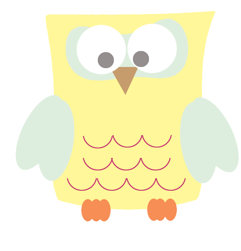 Clip Art Cool Drawings Com Image Files Yellow Square Owl Clipart Png