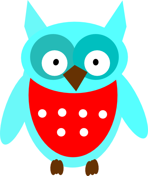 Gray Owl Clipart