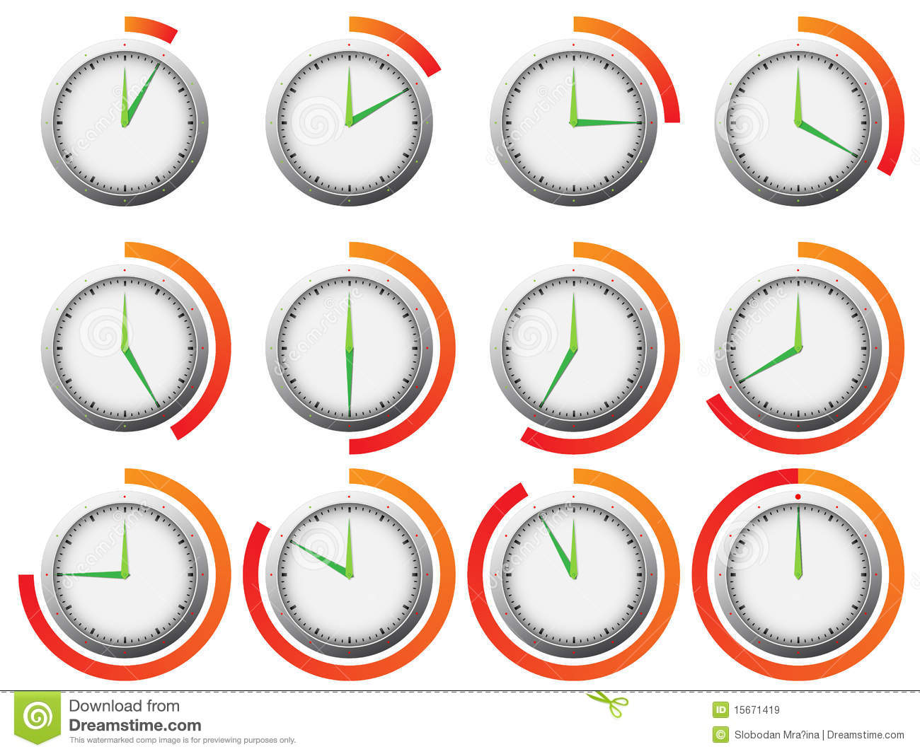 Minute Timer Clipart Clock Timer With 5 Minutes