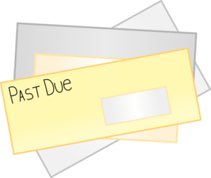 Past Due Notice Clip Art At Clker Com   Vector Clip Art Online