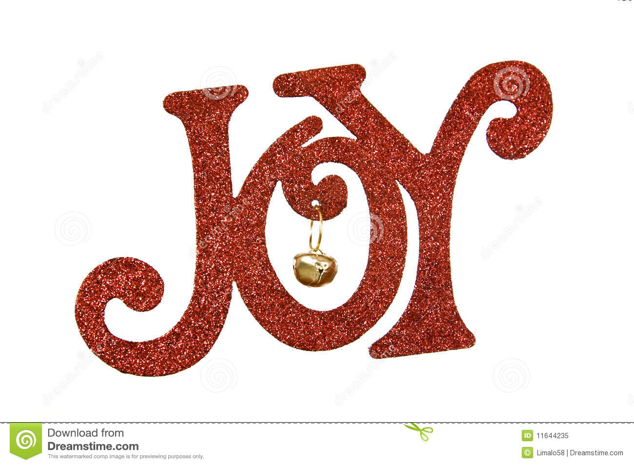The Word Joy In Red Letters Against A White Background
