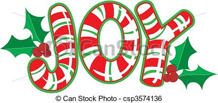 The World Joy Made Out Of Candy Canes Csp3574136   Search Clipart